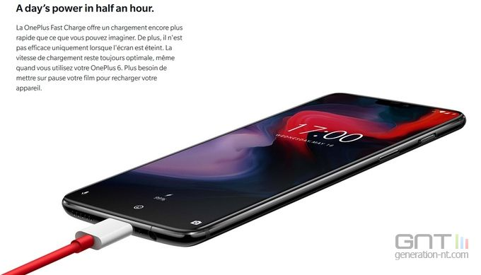 OnePlus 6 Fast Charge