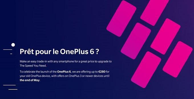 OnePlus 6 reprise