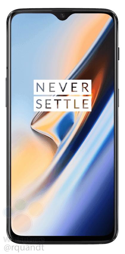 OnePlus 6T rendu
