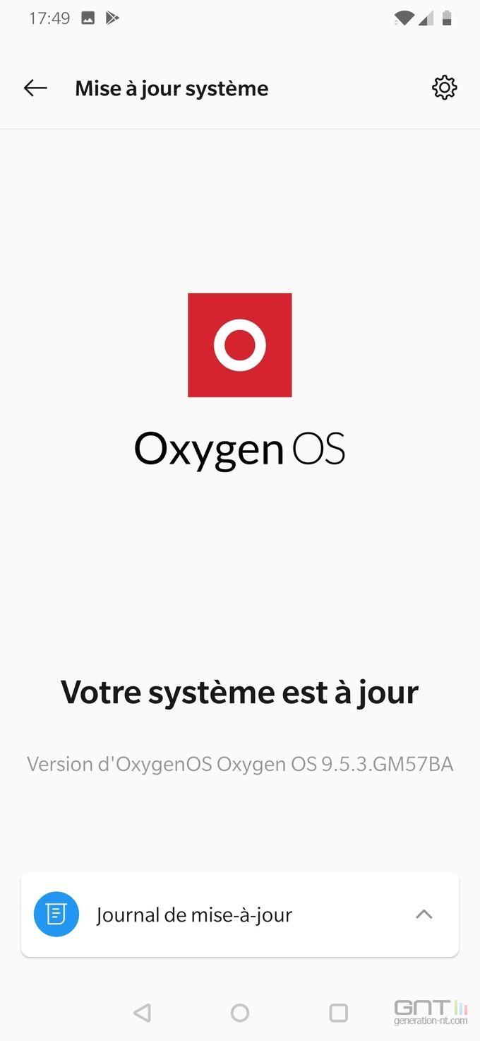 OnePlus 7 OxygenOS