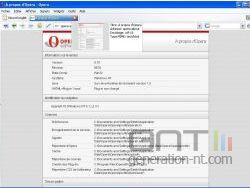 Opera 9 1 final version francaise capture ecran small