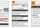 Orange portail mobile