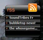 Gadget Orange RSS Player