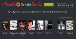 Origin humble bundle