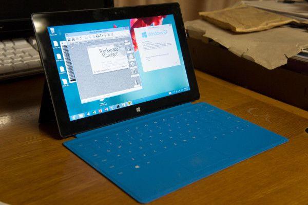OSX sur Surface RT
