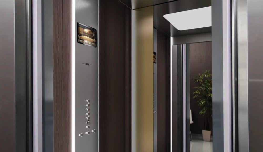 otis un ascenseur connect pour viter l 39 attente. Black Bedroom Furniture Sets. Home Design Ideas