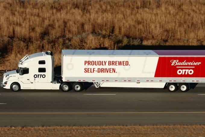 Otto Uberfreight camion autonome