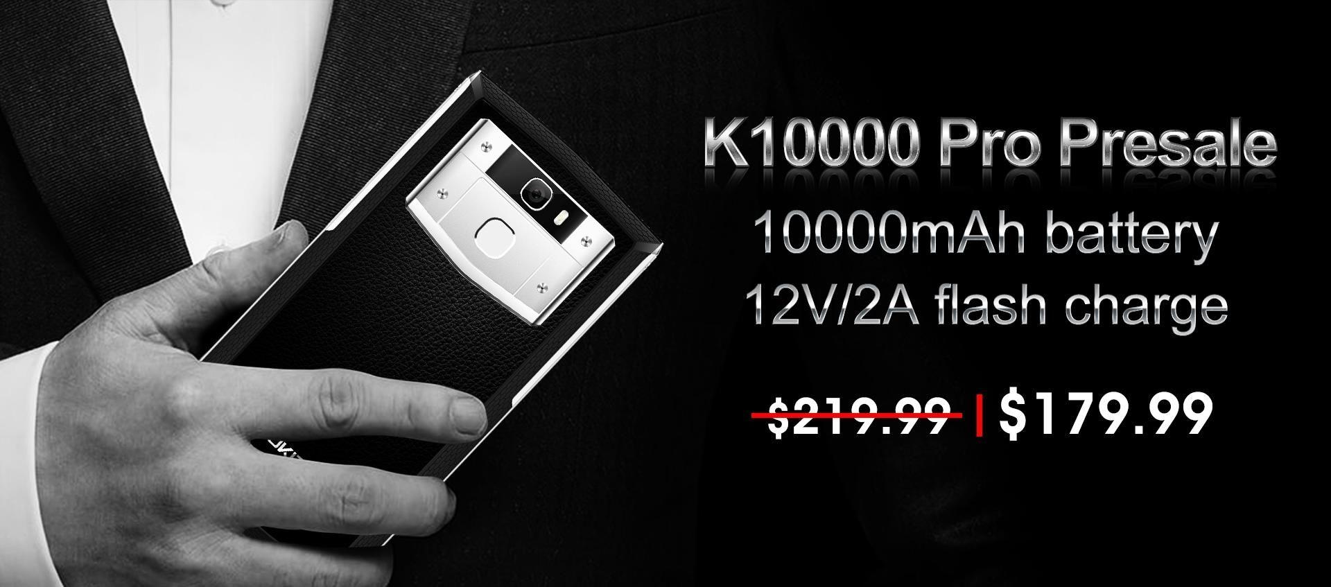 Oukitel K10000 Pro précommande