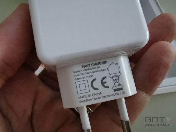 Oukitel K12 charge 30 Watts