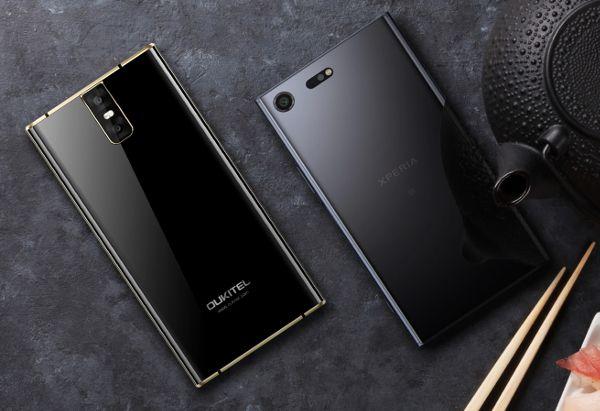 Oukitel-K3-Sony-Xperia-XZ-Premium-design