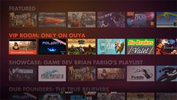 OUYA - interface