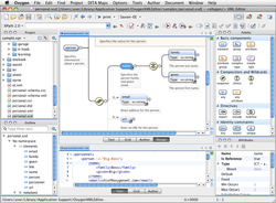 oXygen XML Editor screen1