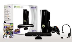 Pack Kinect Xbox 360 250 Go Japon