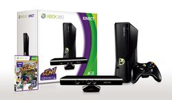 Pack Kinect Xbox 360 4 Go Japon