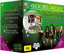 pack xbox 360 pussycat dolls