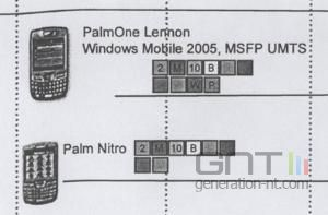 Palmone treo roadmap