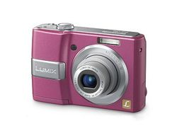 Panasonic Lumix DMC LS80 rose