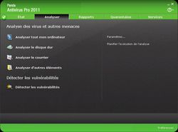 Panda Antivirus Pro 2011 screen 1