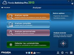 Panda Antivirus Pro 2013 screen2