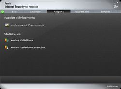 Panda Internet Security for Netbooks 2011 screen 2