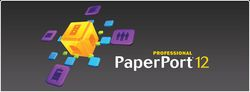 PaperPort Professional 12 logo