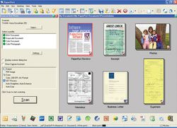 PaperPort Professional 12  screen