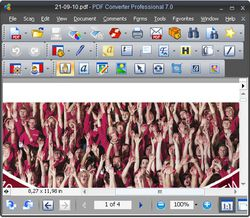 PDF Converter 7 Professional screen 2