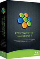 PDF Converter 7 Professional : un éditeur de PDF tout en un