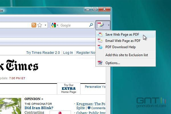 PDF Download screen 1