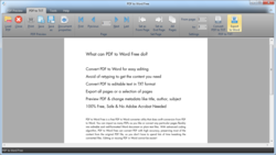PDF to Word Free screen2
