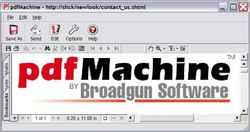 pdfMachine screen 2