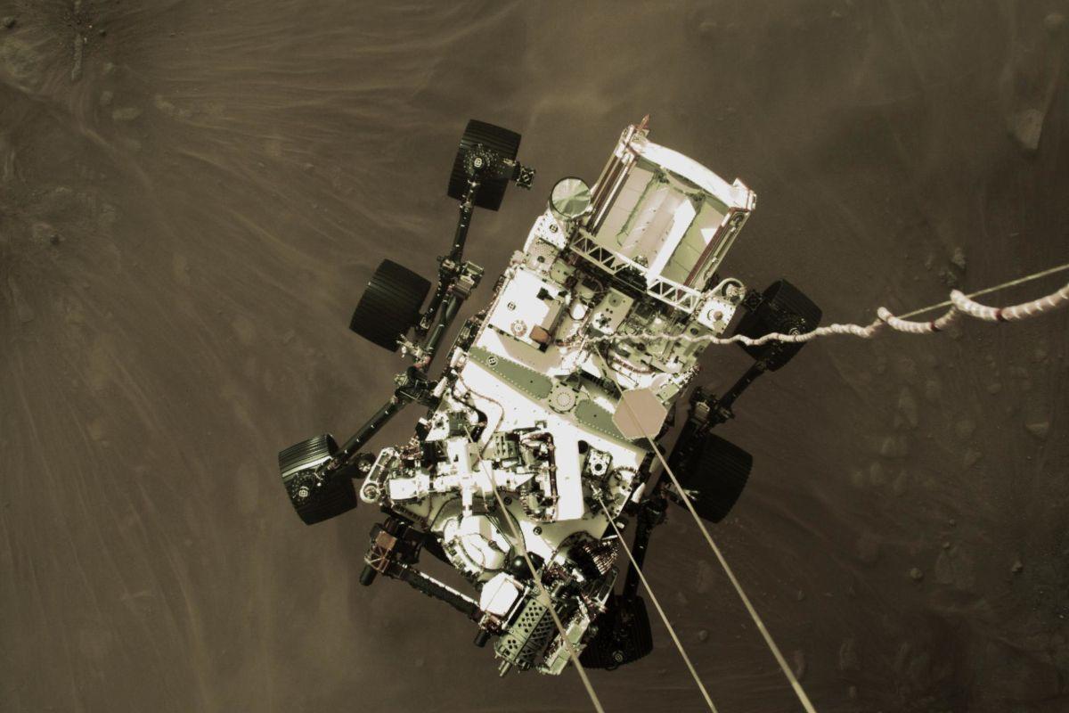Perseverance nous offre une vue haute définition à 360° de Mars