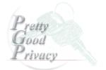 PGP Pretty Good Privacy logo