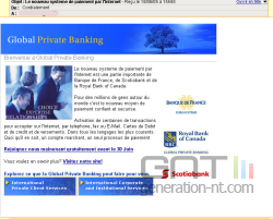 Phishing banque france 1