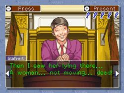 Phoenix Wright Ace Attorney Wii - Image 2