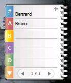Gadget Phonebook