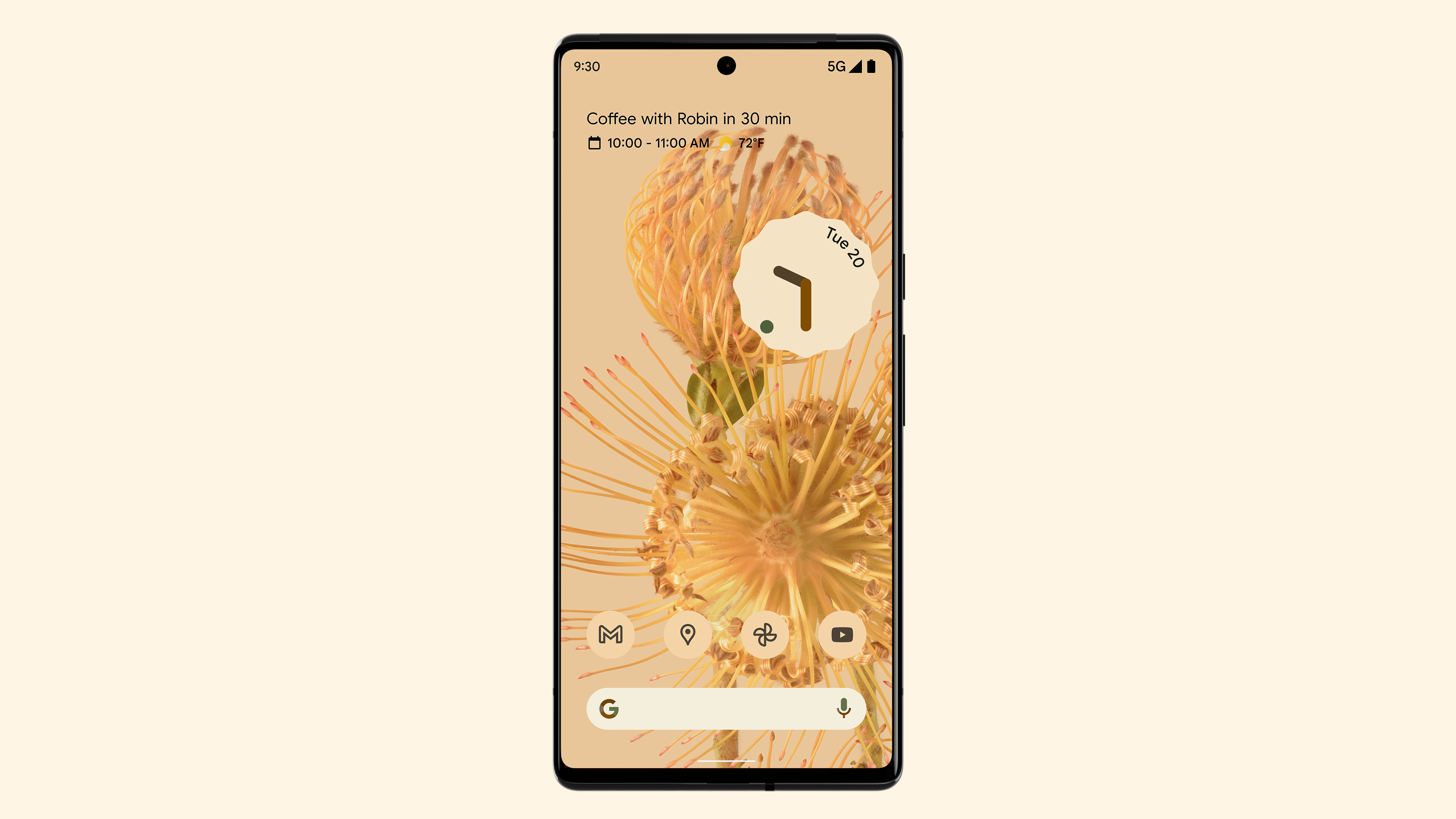 Pixel 6 Android 12 Material You