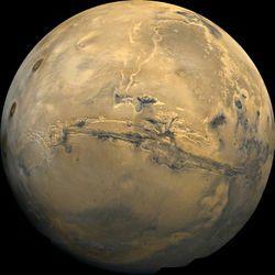 Planete Mars cliché
