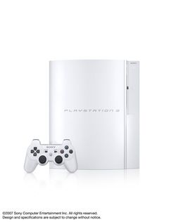 PlayStation 3 Ceramic White