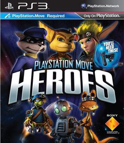 PlayStation Move Heroes - pochette