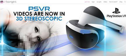 Playstation VR Porn