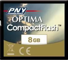 PNY Compact Flash Optima 8 Go
