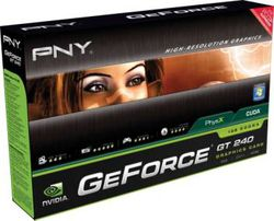 PNY GPU geforce240