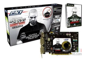 Pny pack geforce 7600 gt splinter cell double agent