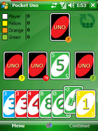 Pocket Uno pour Windows Mobile