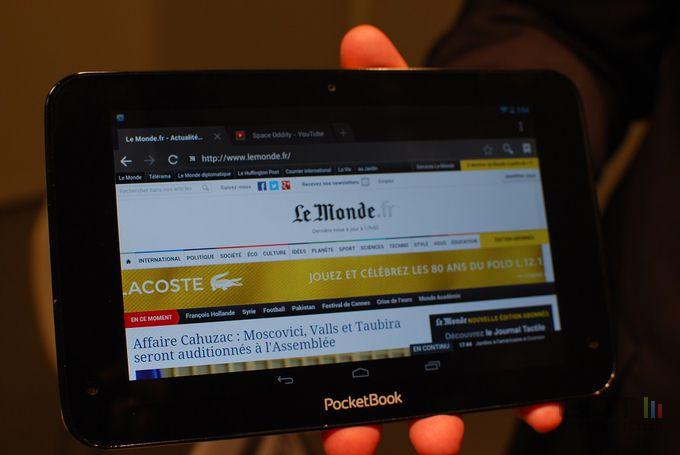 PocketBook tablette 01