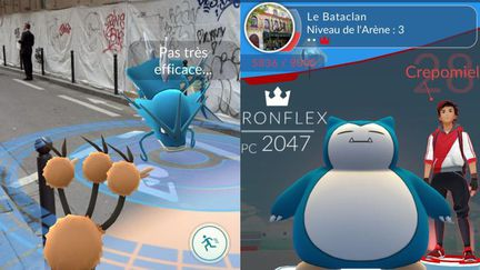 Pokemon Go bataclan
