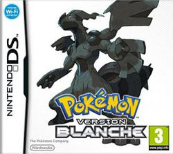 Pokémon Version Blanche - jaquette