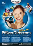 PowerDirector 9 Ultra : éditer vos vidéos