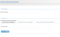 Prestashop screen1